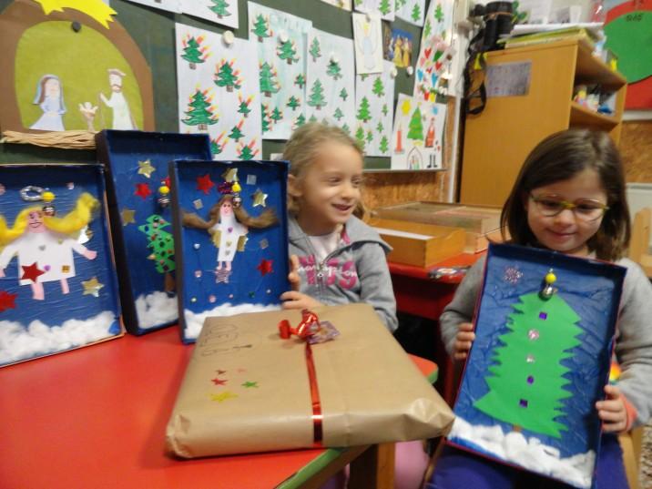Weihnachtsbasteln Im Kindergarten.Deutsche Schule Genua